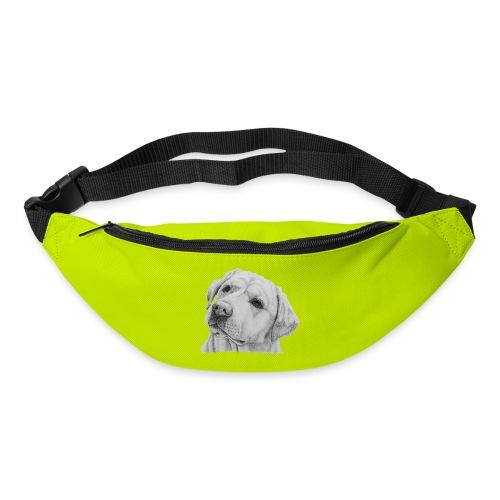 labrador retriever yellow - head - Bæltetaske