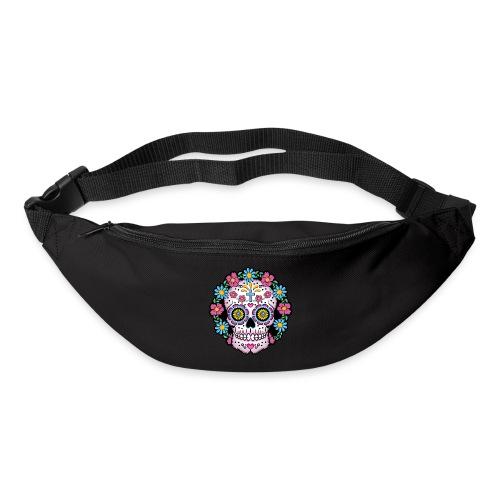 Dia de los Muertos Skull- - Bum bag