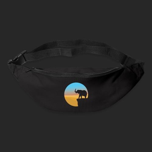 Sunset Elephant - Bum bag