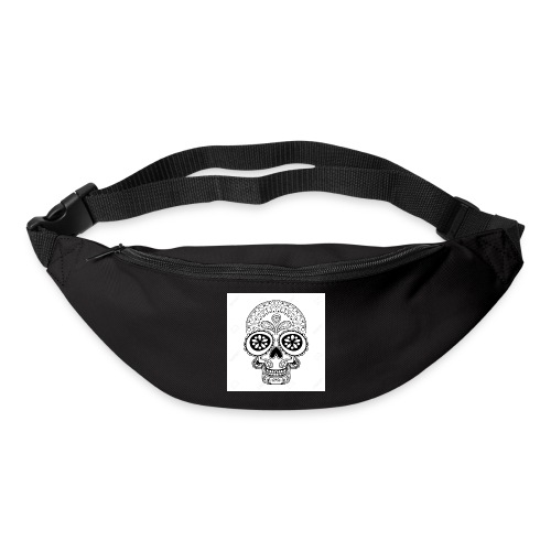 51457190 Disegno a mano Cranio in stile zentangle - Marsupio