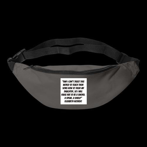 Quote by Elizabeth Acevedo - Bum bag