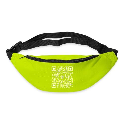 QR Safenetforum White - Bum bag