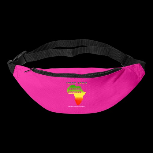 JULES BENJI & MUSIC RESISTANCE africa design - Bum bag