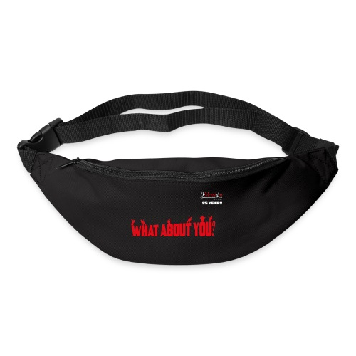 what about you red 25 years - Gürteltasche
