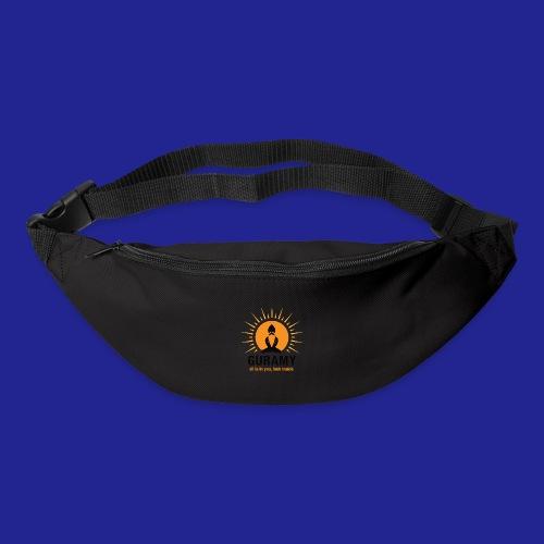 final nero con scritta - Bum bag