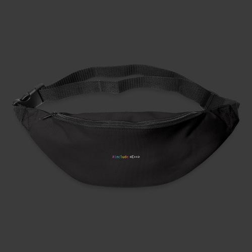rainbow for dark background - Bum bag