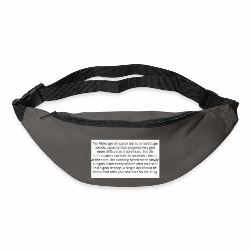FitnessGram pacer Test - Bum bag