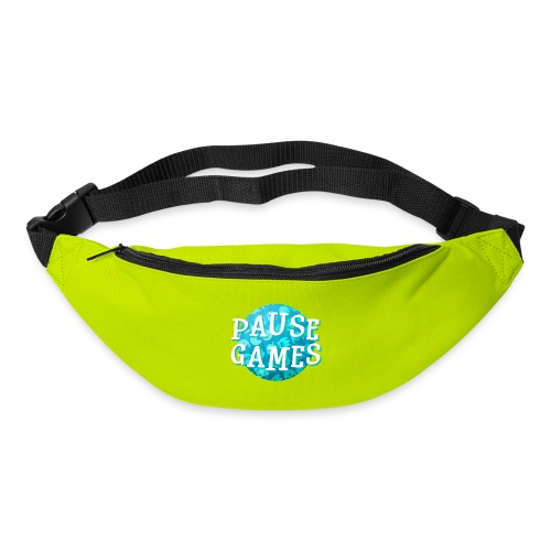 Pause Games New Design Blue - Bum bag