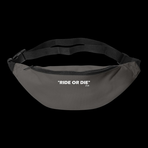 Ride or die (blanc) - Sac banane