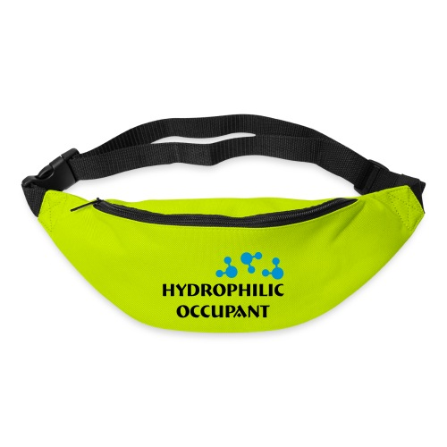 Hydrophilic Occupant (2 colour vector graphic) - Bum bag