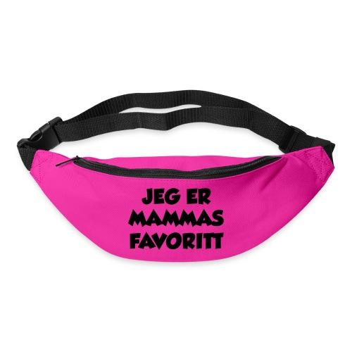 «Jeg er mammas favoritt» (fra Det norske plagg) - Belteveske