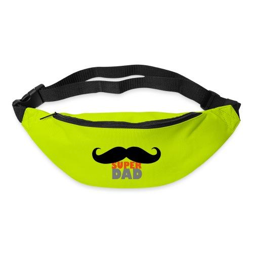 superdad moustache - Gürteltasche