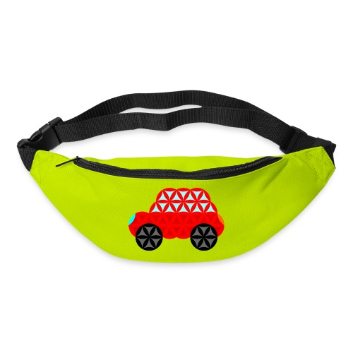 The Car Of Life - M01, Sacred Shapes, Red/R01. - Bum bag