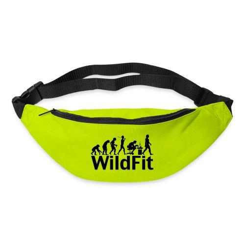 WildFit Logo Evolution in Schwarz - Gürteltasche