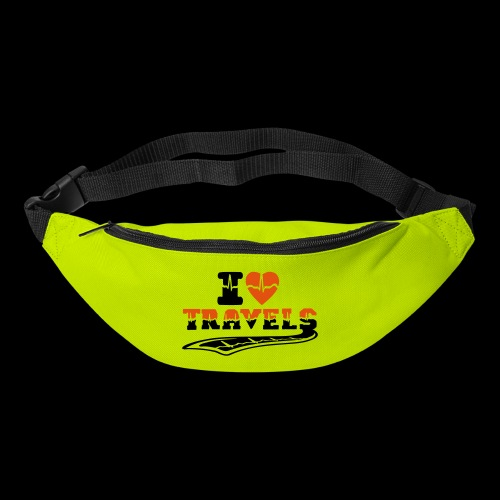 i love travels surprises 2 col - Bum bag
