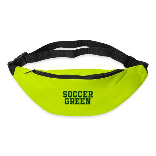 Soccer Green Style Text - Marsupio