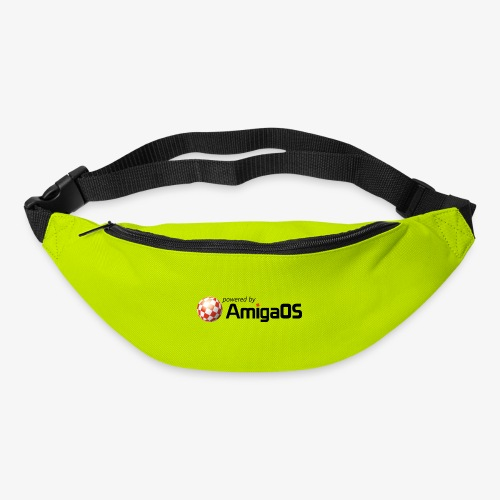 PoweredByAmigaOS Black - Bum bag