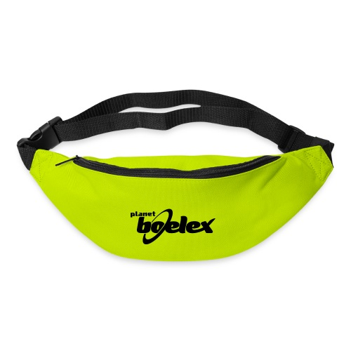 Planet Boelex logo black - Bum bag
