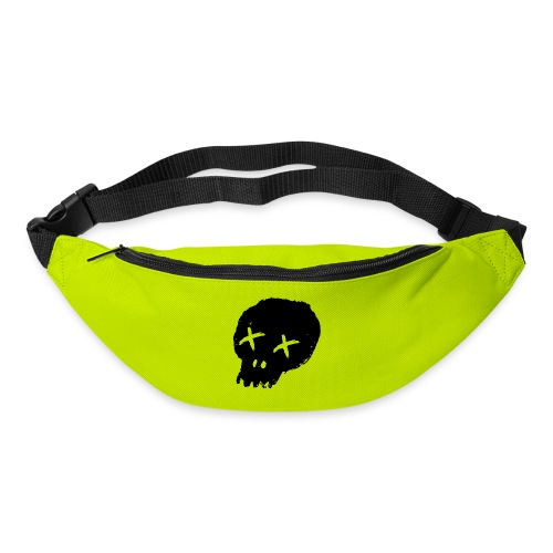 blackskulllogo png - Bum bag