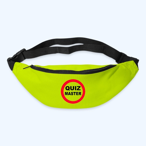 Quiz Master Stop Sign - Bum bag