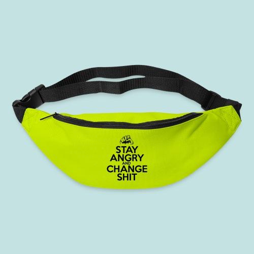 Stay Angry - Bum bag