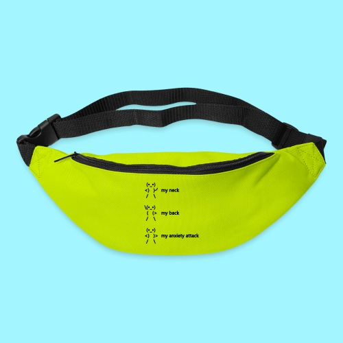 neck back anxiety attack - Bum bag