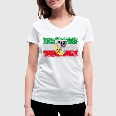 Rhein-Ruhr - Frauen Bio-T-Shirt mit V-Ausschnitt von Stanley & Stella