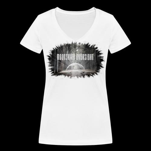 Forme déchiré - Moonshine Oversight - T-shirt bio col V Stanley & Stella Femme