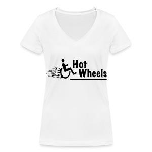 HotWheels3 - Vrouwen bio T-shirt met V-hals van Stanley & Stella