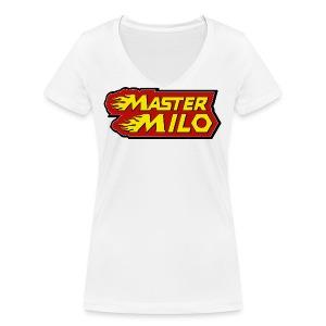 MasterMilo - Vrouwen bio T-shirt met V-hals van Stanley & Stella
