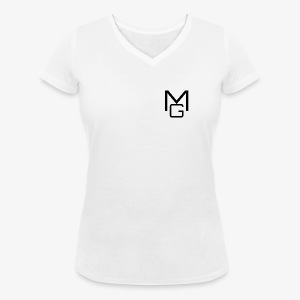 MG Clothing - Women's Organic V-Neck T-Shirt by Stanley & Stella