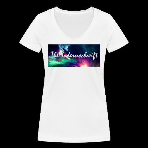 TheModernschwift - Women's Organic V-Neck T-Shirt by Stanley & Stella