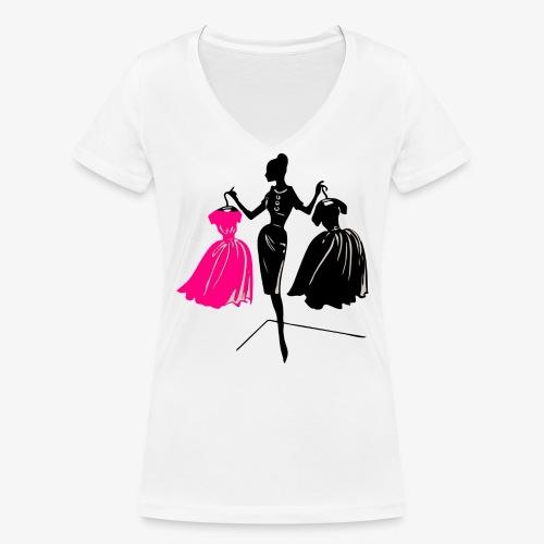 Mode - Frauen Bio-T-Shirt mit V-Ausschnitt von Stanley & Stella