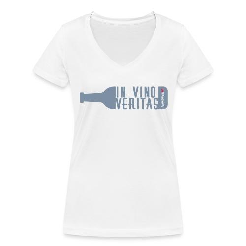 In Vino Veritas - Frauen Bio-T-Shirt mit V-Ausschnitt von Stanley & Stella
