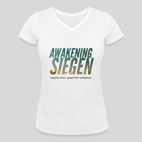 Awakening Siegen - Frauen Bio-T-Shirt mit V-Ausschnitt von Stanley & Stella