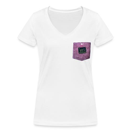 abzeichen Hell - Frauen Bio-T-Shirt mit V-Ausschnitt von Stanley & Stella