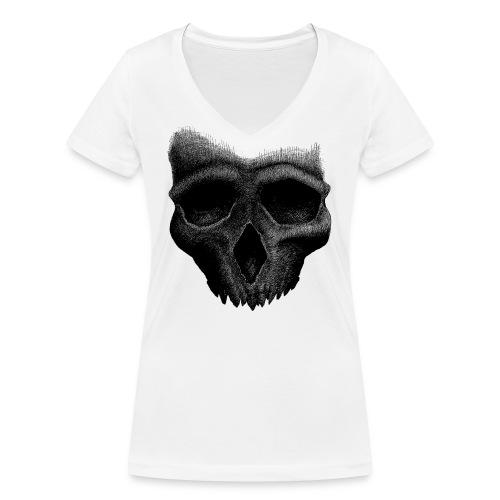 Simple Skull - T-shirt bio col V Stanley & Stella Femme