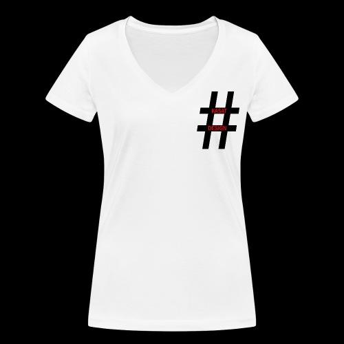 hash - Frauen Bio-T-Shirt mit V-Ausschnitt von Stanley & Stella