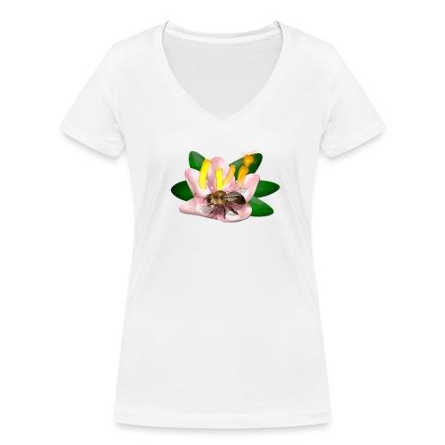L'abeille - T-shirt bio col V Stanley & Stella Femme