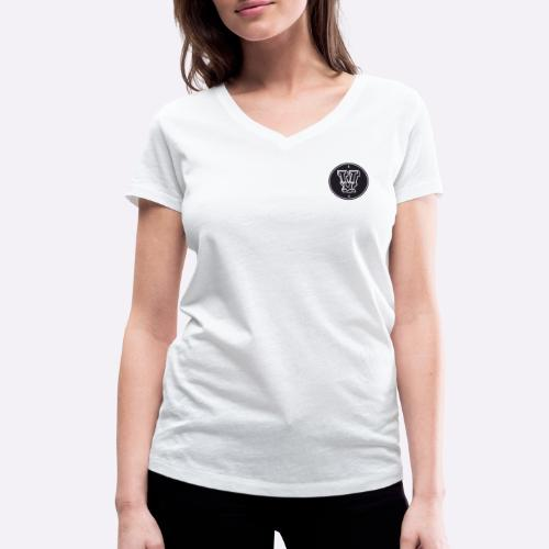 Heartcore Vegan ICON - Vrouwen bio T-shirt met V-hals van Stanley & Stella