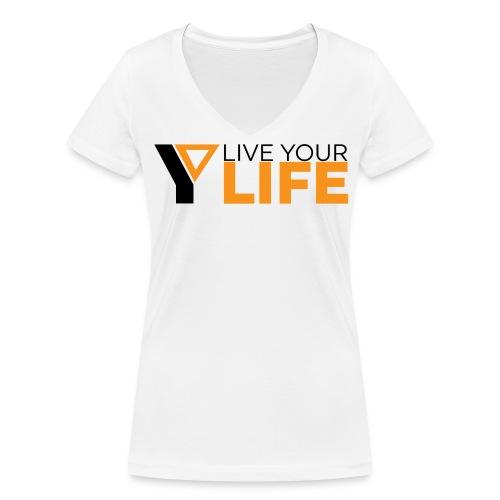 Original LiveYourLife - Frauen Bio-T-Shirt mit V-Ausschnitt von Stanley & Stella