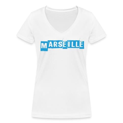 OM - T-shirt bio col V Stanley & Stella Femme