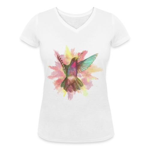 BillyBird - Frauen Bio-T-Shirt mit V-Ausschnitt von Stanley & Stella