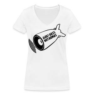 DBNB Black - Vrouwen bio T-shirt met V-hals van Stanley & Stella