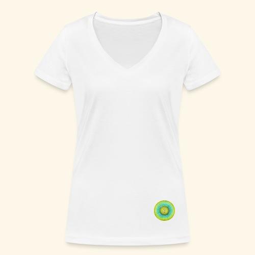 kiwi🥝🥝🥝 - Vrouwen bio T-shirt met V-hals van Stanley & Stella