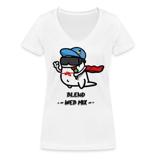 Blend Web Mix : le design gagnant 2017 ! - T-shirt bio col V Stanley & Stella Femme