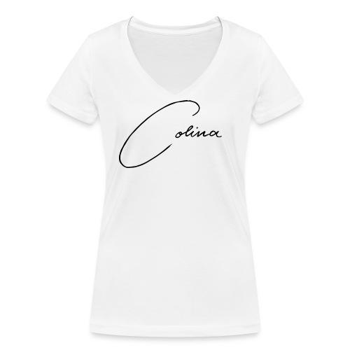 colina - Frauen Bio-T-Shirt mit V-Ausschnitt von Stanley & Stella