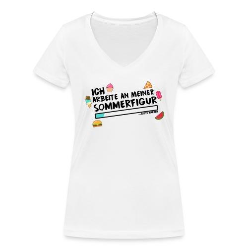 Für die Frauen - Frauen Bio-T-Shirt mit V-Ausschnitt von Stanley & Stella