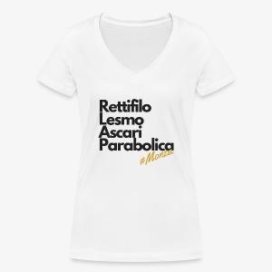 Monza - Women's Organic V-Neck T-Shirt by Stanley & Stella