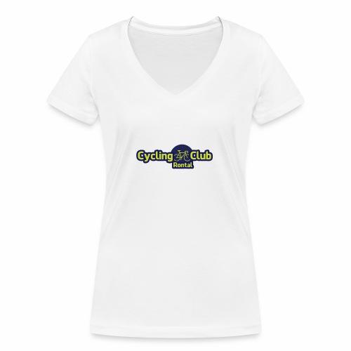 Cycling Club Rontal - Frauen Bio-T-Shirt mit V-Ausschnitt von Stanley & Stella